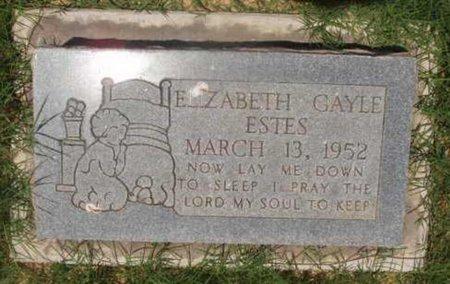 ESTES, ELIZABETH GAYLE - Callahan County, Texas   ELIZABETH GAYLE ESTES - Texas Gravestone Photos