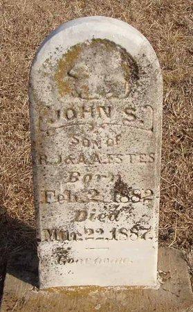 ESTES, JOHN S. - Callahan County, Texas | JOHN S. ESTES - Texas Gravestone Photos