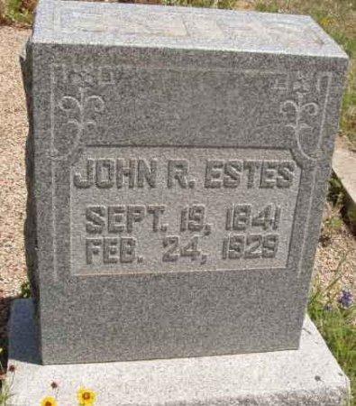 ESTES, JOHN R. - Callahan County, Texas   JOHN R. ESTES - Texas Gravestone Photos
