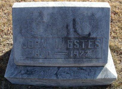 ESTES, JOHN I. - Callahan County, Texas   JOHN I. ESTES - Texas Gravestone Photos
