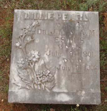 ESTES, LILLIE PEARL - Callahan County, Texas | LILLIE PEARL ESTES - Texas Gravestone Photos