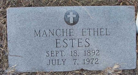 ESTES, MANCHE ETHEL - Callahan County, Texas | MANCHE ETHEL ESTES - Texas Gravestone Photos
