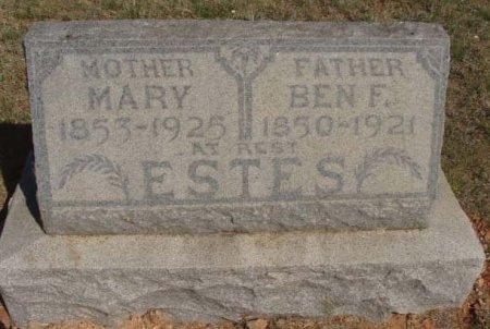 ESTES, MARY - Callahan County, Texas | MARY ESTES - Texas Gravestone Photos