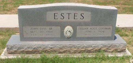 ESTES, LILLIAN ALICE - Callahan County, Texas | LILLIAN ALICE ESTES - Texas Gravestone Photos