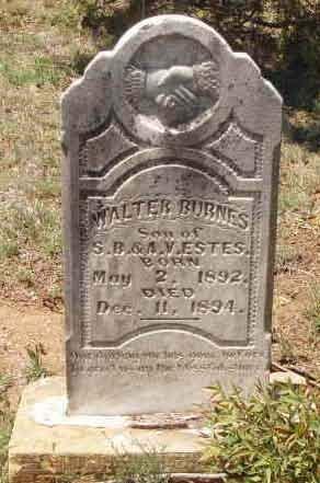 ESTES, WALTER BURNES - Callahan County, Texas | WALTER BURNES ESTES - Texas Gravestone Photos