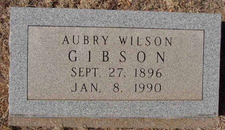 GIBSON, AUBRY WILSON - Callahan County, Texas   AUBRY WILSON GIBSON - Texas Gravestone Photos