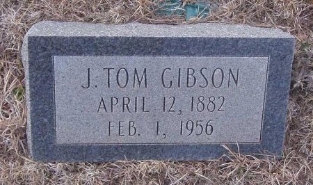 GIBSON, J. TOM - Callahan County, Texas | J. TOM GIBSON - Texas Gravestone Photos