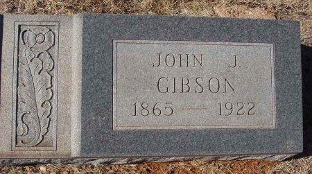 GIBSON, JOHN J. - Callahan County, Texas | JOHN J. GIBSON - Texas Gravestone Photos