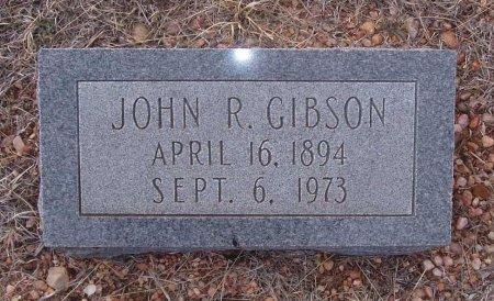 GIBSON, JOHN R. - Callahan County, Texas | JOHN R. GIBSON - Texas Gravestone Photos