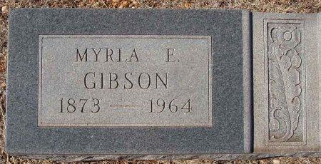 GIBSON, MYRLA E. - Callahan County, Texas | MYRLA E. GIBSON - Texas Gravestone Photos