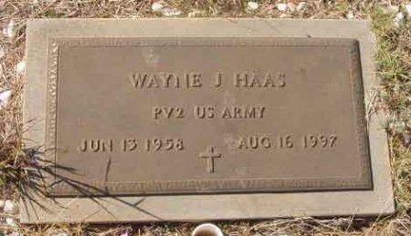 HAAS (VETERAN), WAYNE J.  - Callahan County, Texas | WAYNE J.  HAAS (VETERAN) - Texas Gravestone Photos