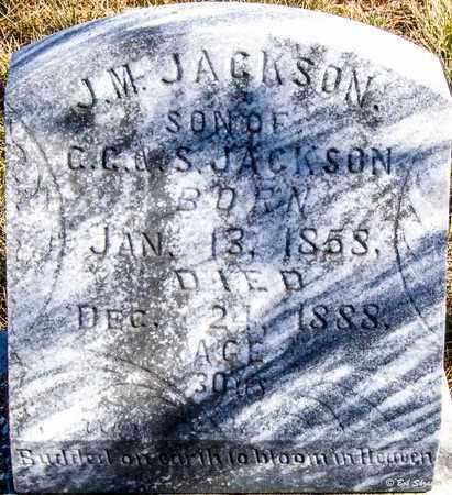 JACKSON, J M - Callahan County, Texas | J M JACKSON - Texas Gravestone Photos
