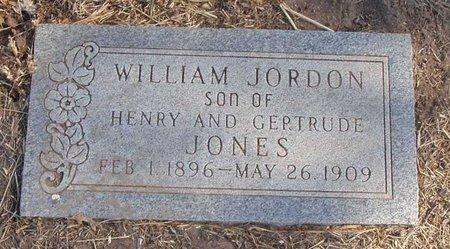 JONES, WILLIAM JORDON - Callahan County, Texas | WILLIAM JORDON JONES - Texas Gravestone Photos