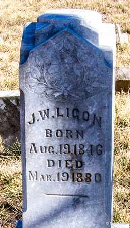 LIGON, J W - Callahan County, Texas   J W LIGON - Texas Gravestone Photos