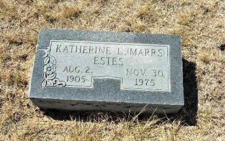 ESTES, KATHERINE L. - Callahan County, Texas   KATHERINE L. ESTES - Texas Gravestone Photos