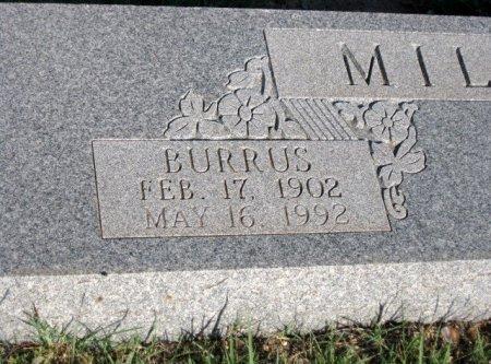MILLER, BURRUS (CLOSEUP) - Callahan County, Texas | BURRUS (CLOSEUP) MILLER - Texas Gravestone Photos