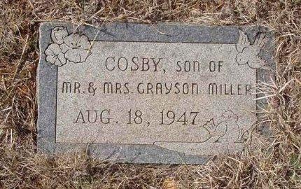 MILLER, COSBY - Callahan County, Texas   COSBY MILLER - Texas Gravestone Photos