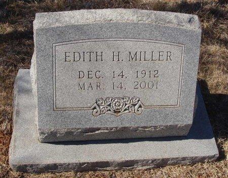 MILLER, EDITH H. - Callahan County, Texas | EDITH H. MILLER - Texas Gravestone Photos