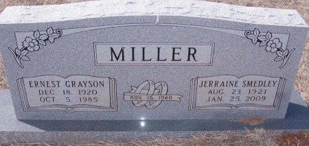 MILLER, ERNEST GRAYSON - Callahan County, Texas | ERNEST GRAYSON MILLER - Texas Gravestone Photos