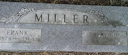 MILLER, FRENCHIE - Callahan County, Texas | FRENCHIE MILLER - Texas Gravestone Photos