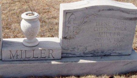 MILLER, IRENE RUTH - Callahan County, Texas   IRENE RUTH MILLER - Texas Gravestone Photos