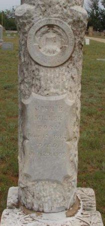 MILLER, JOHN BENNETT - Callahan County, Texas | JOHN BENNETT MILLER - Texas Gravestone Photos