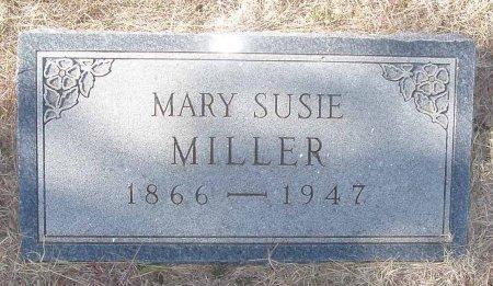 MILLER, MARY SUSIE - Callahan County, Texas   MARY SUSIE MILLER - Texas Gravestone Photos