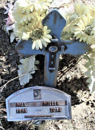 MILLER, MAX - Callahan County, Texas | MAX MILLER - Texas Gravestone Photos