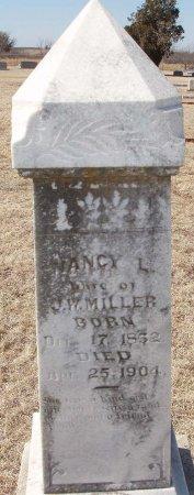 MILLER, NANCY L. - Callahan County, Texas   NANCY L. MILLER - Texas Gravestone Photos