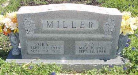 MILLER, NORA J. - Callahan County, Texas | NORA J. MILLER - Texas Gravestone Photos