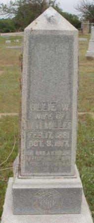 MILLER, OLLIE - Callahan County, Texas | OLLIE MILLER - Texas Gravestone Photos