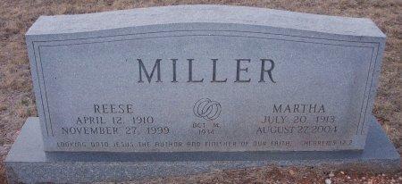 MILLER, MARTHA - Callahan County, Texas | MARTHA MILLER - Texas Gravestone Photos