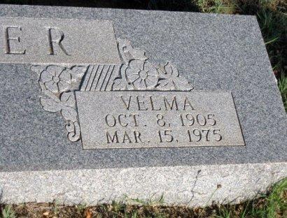 MILLER, VELMA (CLOSEUP) - Callahan County, Texas | VELMA (CLOSEUP) MILLER - Texas Gravestone Photos