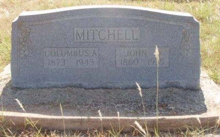 MITCHELL, JOHN DAVIS - Callahan County, Texas | JOHN DAVIS MITCHELL - Texas Gravestone Photos
