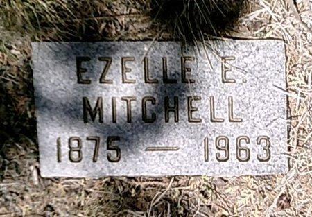 MITCHELL, EZELLE E. - Callahan County, Texas | EZELLE E. MITCHELL - Texas Gravestone Photos