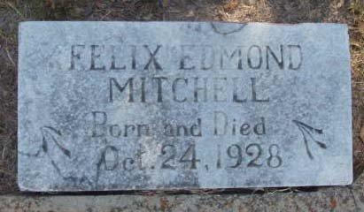 MITCHELL, FELIX EDMOND - Callahan County, Texas | FELIX EDMOND MITCHELL - Texas Gravestone Photos