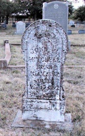 MITCHELL, JOHN W. - Callahan County, Texas   JOHN W. MITCHELL - Texas Gravestone Photos