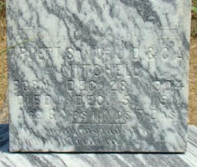 MITCHELL, TRUETT G. (CLOSEUP) - Callahan County, Texas | TRUETT G. (CLOSEUP) MITCHELL - Texas Gravestone Photos