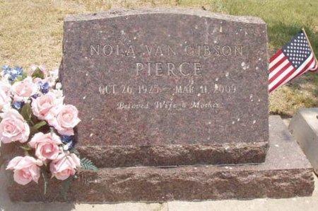 PIERCE, NOLA VAN - Callahan County, Texas   NOLA VAN PIERCE - Texas Gravestone Photos