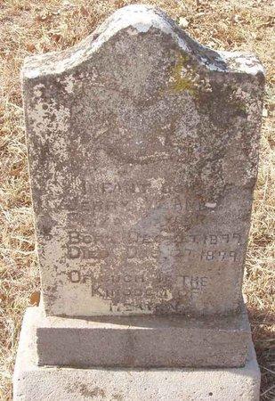 TAYLOR, INFANT SON - Callahan County, Texas   INFANT SON TAYLOR - Texas Gravestone Photos