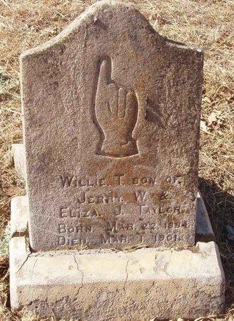 TAYLOR, WILLIE T. - Callahan County, Texas | WILLIE T. TAYLOR - Texas Gravestone Photos
