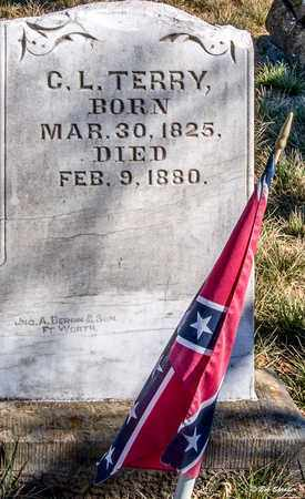 TERRY (VETERAN CSA), C L - Callahan County, Texas | C L TERRY (VETERAN CSA) - Texas Gravestone Photos