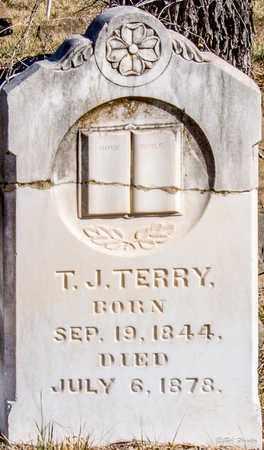 TERRY, T J - Callahan County, Texas   T J TERRY - Texas Gravestone Photos