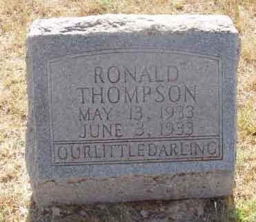 THOMPSON, RONALD - Callahan County, Texas | RONALD THOMPSON - Texas Gravestone Photos