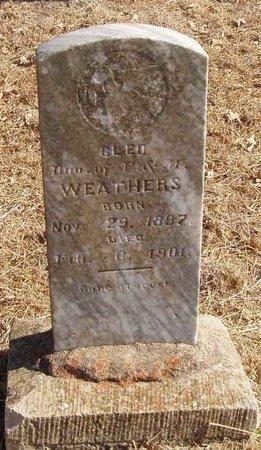 WEATHERS, CLEO - Callahan County, Texas   CLEO WEATHERS - Texas Gravestone Photos