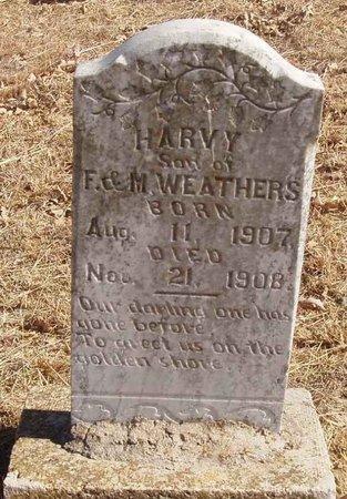 WEATHERS, HARVY - Callahan County, Texas | HARVY WEATHERS - Texas Gravestone Photos