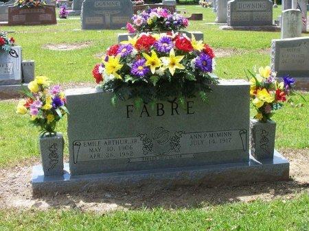 FABRE, JR, EMILE ARTHUR - Camp County, Texas   EMILE ARTHUR FABRE, JR - Texas Gravestone Photos
