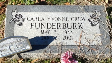 FUNDERBURK, CARLA YVONNE - Camp County, Texas | CARLA YVONNE FUNDERBURK - Texas Gravestone Photos