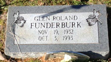 FUNDERBURK, GLEN ROLAND - Camp County, Texas   GLEN ROLAND FUNDERBURK - Texas Gravestone Photos