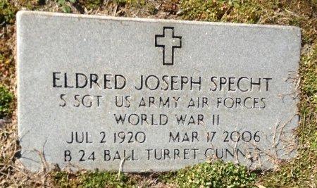SPECHT (VETERAN WWII), ELDRED JOSEPH - Camp County, Texas   ELDRED JOSEPH SPECHT (VETERAN WWII) - Texas Gravestone Photos